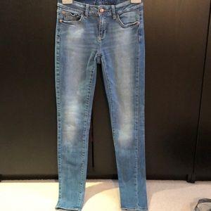 Ladies Zara Z1975 Skinny Jean Size 26